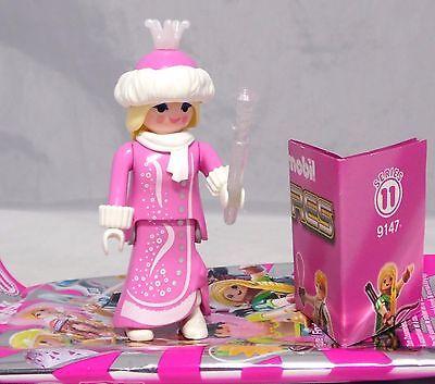 es Girls Serie 11, Eiskönigin rosa Krone Zauberstab #7 NEU (Rosa Königin Krone)