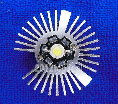 2pcs 4719mm Round Oxidation Sunflower Aluminum Heatsink For 1w3w5w Led Lamp