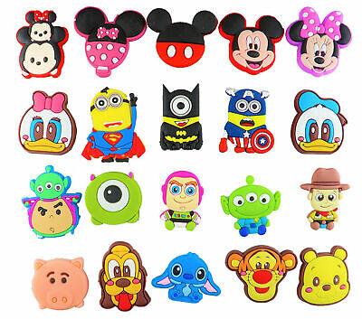 20 pcs Cartoon Shoe Charms for Croc & Bracelet & shoes Wristband Kids Party