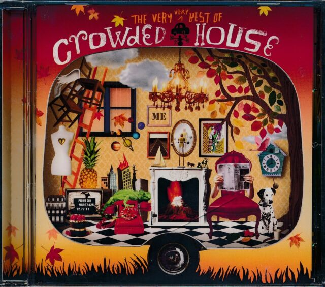 Crowded House The Very Very Best Of CD NEW Something So Strong Locked Out