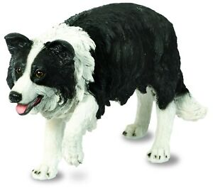 Border Collie Sheep Dog Garden Ornament - Puppy - Resin Pup Figure