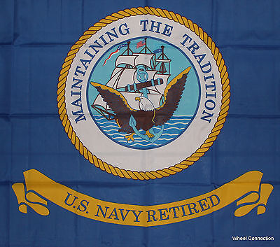 United States Navy Retired Flag Military Veterans Armed Forces of America