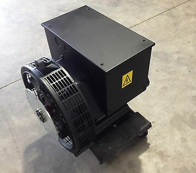 Generator Alternator Head 21 Kw Genuine Pdg Industrial 3 Phase Sae 57.5