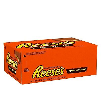 r Cups Chocolate Candy Bars, Bulk (1.5 oz., 36 ct.) (Peanut Butter Cups Halloween)