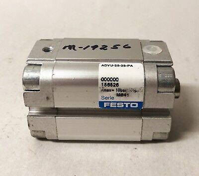 Festo Compact Cylinder Advu-25-25-pa 9042