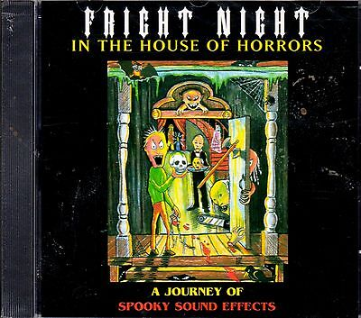 FRIGHT NIGHT IN THE HOUSE OF HORRORS A JOURNEY OF SPOOKY HALLOWEEN SOUND EFFECTS - Halloween Horrors The Sounds Of Halloween
