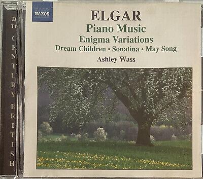 Elgar: Piano Music - Sonatina in G, Dream Children, Enigma Var. (CD, Naxos 2006)