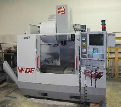 2001 Haas Vf-0eb Cnc Vertical Machining Center Vmc W Tooling Very Clean Machine