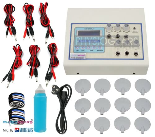 MEDGEARS Electro Therapy 6 Channel Auto mode Tens Electrotherapy