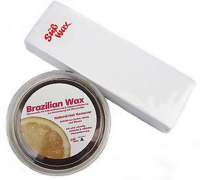 400g Süß Wax Brazilian Wax Bikini Waxing Sugaring Zuckerpaste Enthaarung m.Vlies