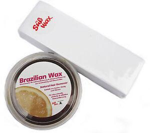 400g Brazilian Wax / Bikini Waxing Sugaring Zuckerpaste zur Enthaarung mit Vlies