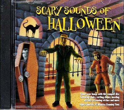 K-TEL's ORIGINAL CLASSIC SCARY SOUNDS OF HALLOWEEN: SPOOKY MUSIC & SOUNDS CD - Spooky Halloween Music Classical