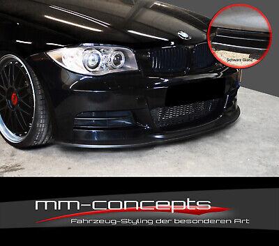 CUP Spoilerlippe für 1er BMW E82 E88 M-Paket M1 Frontspoiler Spoilerschwert