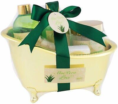 Beautyset Pflegeset Bade-Set  Aloe Vera Love Badewanne  Wellness Geschenkset