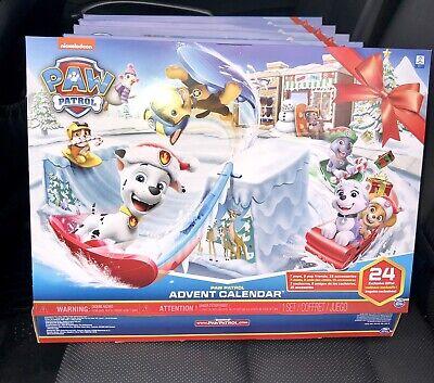 24pc Paw Patrol Advent Sealed Countdown Christmas Holiday Calendar Kids Toys
