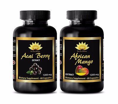 Weight loss extreme - ACAI BERRY EXTRACT – AFRICAN MANGO COMBO - acai fiber