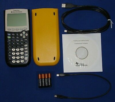 New TI-84 Plus Graphic Calculator Texas Instruments TI84 + Graphing