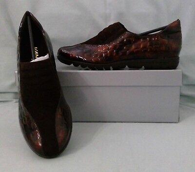 (VANELI SPORT AMORY Brown Tmoro Croc Loafer Flats Womens Shoes Size 6 Medium B M)