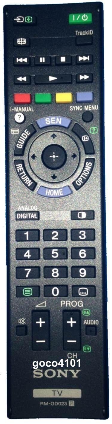 Original Sony Remote Control Rmgd023 Rm-gd023 Kdl26ex550 Kdl40ex650 Kdl46ex650