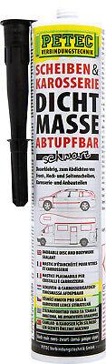 Serie Schwarz Holz (PETEC 83300 Scheiben Karosserie Dichtmasse 310ml Abtupfbar Schwarz Dauerklebrig)