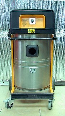 Wap Turbo 1001 2-speed Wetdry 48 Liter Stainless Industrial Vacuum Cleaner