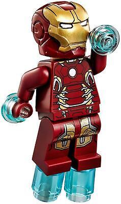 GENUINE LEGO Marvel IRON MAN MARK 43 MK43 Minifigure 76031 76032 Avengers WOW!!!