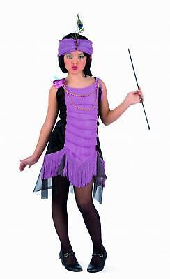 Limit Mädchen Kostüm Kinder Charleston 20 Jahre Kleid Fransen Gr.3-5J Neu - Charleston Mädchen Kostüm