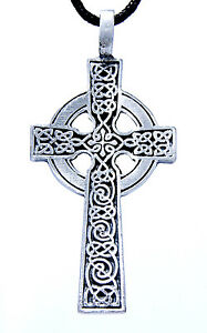 nr-11-cruz-celta-colgante-de-estano-incl-Band-Pewter-Celtico-la-cruz