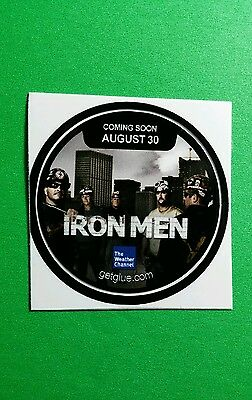 Iron Men Cast Group B W Weather Channel Tv Small 1 5  Getglue Get Glue Sticker