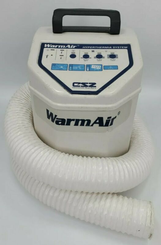 Cincinnati Sub-Zero Model 135 Warm Air Hypothermia System CSZ WarmAir