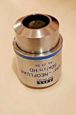 Zeiss Epiplan Neofluar 50x 075 M27 Microscope Objective Lens