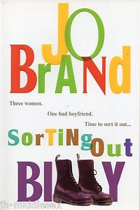 Jo-Brand-Sorting-Out-Billy-Softback-Book-Signed-Genuine-and-Handsigned