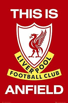 LIVERPOOL THIS IS ANFIELD MAXI POSTER 91.5 X 61CM 100% OFFICIAL MERCH  -