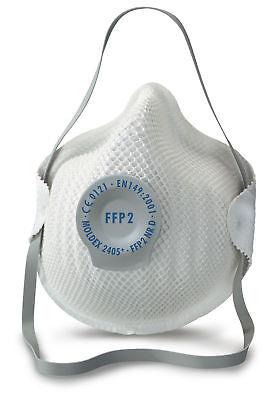 Moldex 2405 classic FFP2 NR D valved mesh dust disposable mask (pack of 3)