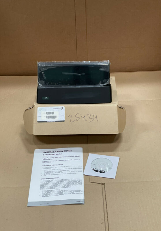 BEMATECH Logic LTX9000UP-GY LTX9000 Customer Pole Display, Gray, 9.5MM, USB Port