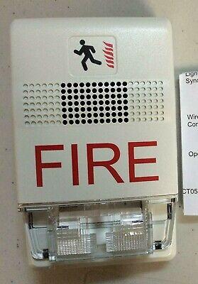 Est Edwards G1f-vm Genesis Field Configurable Wall-mount Horn Strobe Fire Alarm