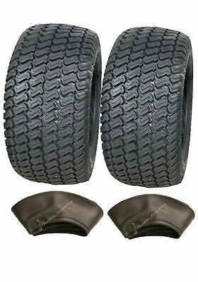 2 - 11x4.00-4 4ply Tyres & Tubes Multi turf grass- lawn mower 11 400 4 lawnmower