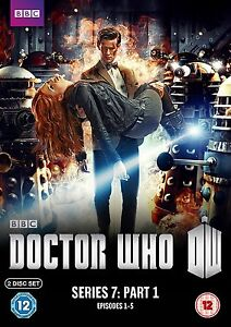 Doctor Who - Series 7 - Part 1 (DVD, 2012 Season 7 pt.1) *5 Exclusive Art Cards