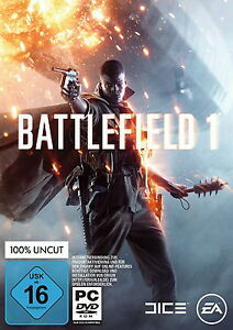 Battlefield 1 EA Origin Pc Key Game Download Code