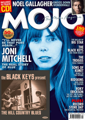 Mojo Magazine #331 July 2021 JONI MITCHELL Blue 50th Anniversary & BLACK KEYS CD