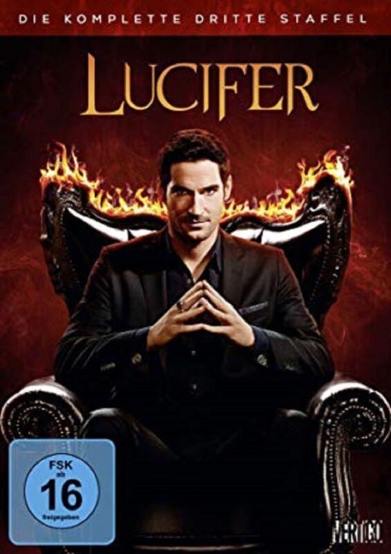Lucifer Staffel 3 Neu und Originalverpackt 3 DVDs