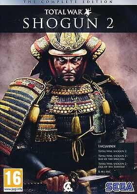 Total War Shogun 2 Complete Includes Fall And Rise Of The Samurai All Dlc Pc New