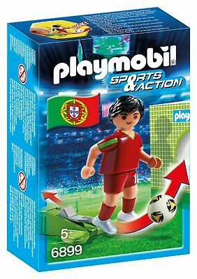 Playmobil 6899 Sports & Action Football Player Portugal Figure