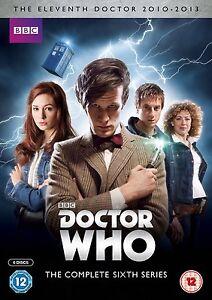 DOCTOR WHO COMPLETE SERIES 6 DVD BOX SET DR BBC NEW UK Six 6th Sixth SEASON