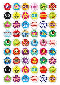 780-Childrens-Reward-Stickers-Chart-Motivation-Kids-Teacher-School ...