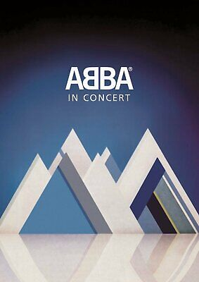 ABBA ABBA IN CONCERT DVD (Brand New & Sealed DVD)