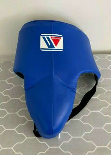 Winning Boxing High Cut Groin Cup Protector Blue Size L CPH-100