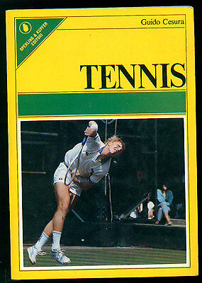 CESURA GUIDO TENNIS SPERLING & KUPFER 1986 SPORTIVA 15 SPORT