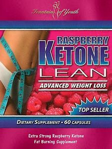 RASPBERRY KETONE LEAN ADVANCED 1200mg FATBURNER WEIGHT LOSS 60 NOT 30 CAPSULES