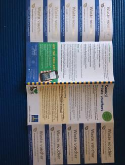 Briabane council waste vouchers